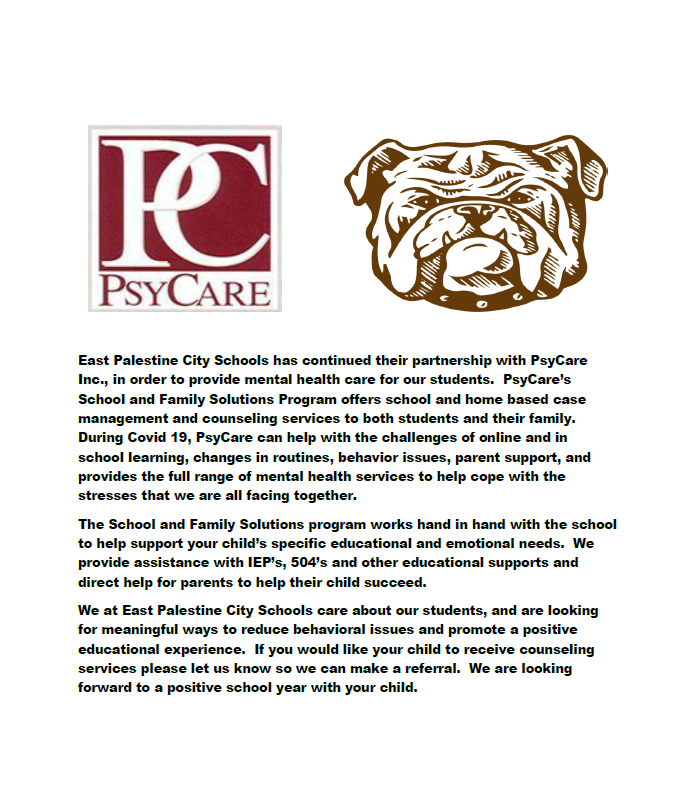 PsyCare's School and Family Solutions Program Continues at EP
