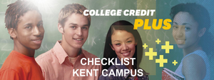 Kent State College Credit Plus Checklist
