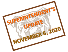 Superintendent's Update with New Covid Information