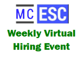 MC ESC Hosts Virtual Hiring Events