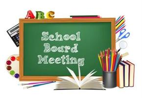 School Board Meeting - June 1st