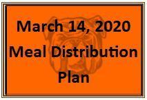Meal Distribution Plan Announced