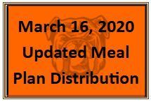 Meal Plan Distribution